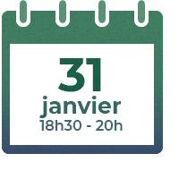 31 janvier 2020, 18h30-20h