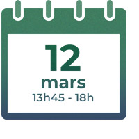 12 mars 2020, 13h45 - 18h