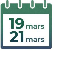 Du 19 au 21 mars 2020