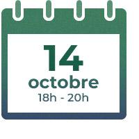 14 octobre, 18h - 20h