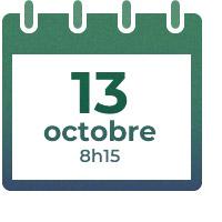 13 octobre, 8h15