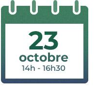 23 octobre, 14h - 16h30