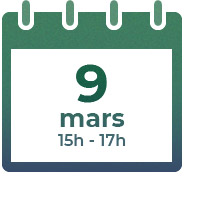 9 mars 2021 - 15h-17h