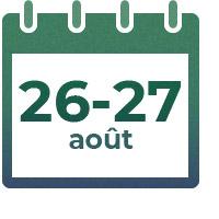 26 - 27 août 2021