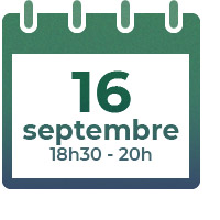 16 septembre 2021, 18h30 - 20h