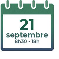 21 septembre 2021, 8h30 - 18h