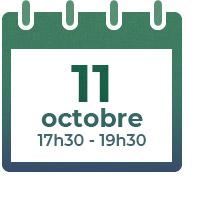 11 octobre 2021,  17h30-19h30