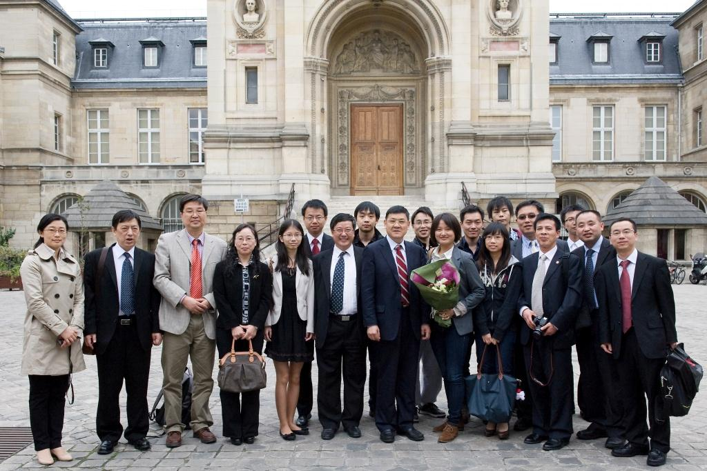 Cnam Université de Wuhan (Chine) Création d'un institut franco-chinois
