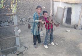 Nooria, éducatrice du jardin d'enfant de Malalaï