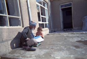 Suhaila, bénéficiaire du centre d'éducation à la santé de Azrat Osman