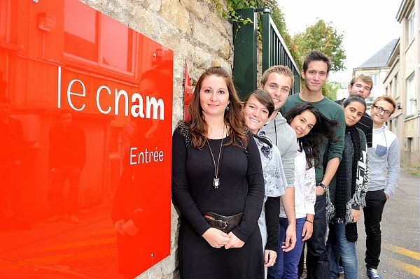 Eleves ingénieurs du Cnam à Nancy