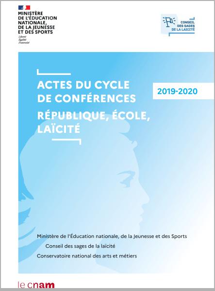 Actes de la laïcité 2019-2020