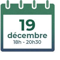 19 décembre 2019, 18h-20h30