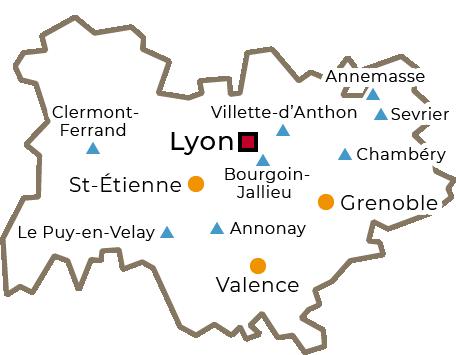 Centres régionaux 2019 - Auvergne-Rhône-Alpes - grand
