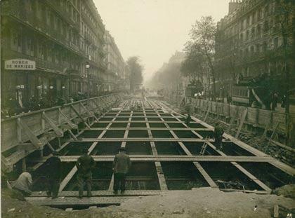 Construction de la station en 1905