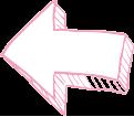 Flèche rose Titre Droite