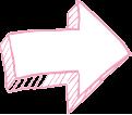 Flèche rose gauche Titre