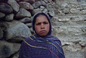 Mohgul, bénéficiaire du centre d'éducation à la santé de Khoja Laka