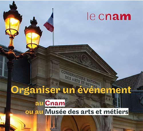 Organiser un événement au Cnam