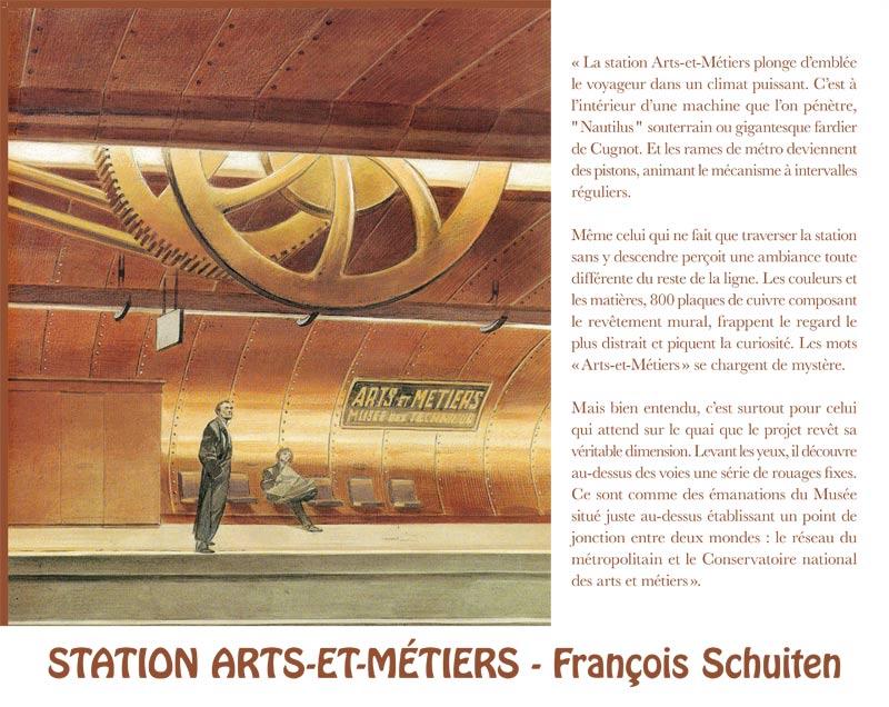 François Schuiten (Station 9e art)